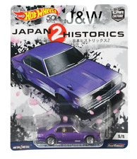 hot wheels Nissan Skyline C210 Violet Japon Historics 2 1/64
