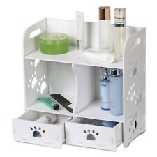 Wood-Plastic Cosmetic Desktop Jewellery Display Rack Storage Makeup Drawer