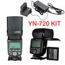 YONGNUO YN720 Pro Kit Li Battery Speedlite FOR Nikon canon Sony FujiFilm Camera