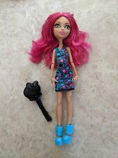 """Monster High 11"""" Doll HOWLEEN GHOUL FAIR CARNIVAL Brush Lot"""