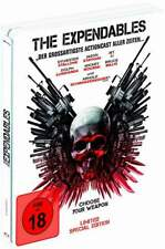 """""""THE EXPENDABLES"""" - Stallone, Schwarzenegger - Action - ltd BLU RAY STEELBOOK"""