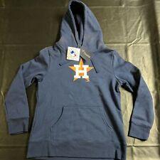 HOUSTON ASTROS MLB LADIES WOMEN FLEECE HOODIE Pullover Jacket Size Medium