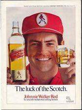 JOHNNIE WALKER WHISKY - Vintage Original 1971 ADVERTISEMENT. Free UK Post
