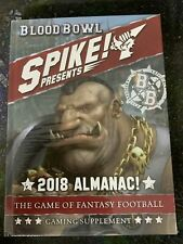 Blood Bowl: Spike! Presents 2018 Almanac **New in Shrink-Wrap**