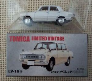 Tomica Limited Vintage Tomytec Isuzu Bellett1300 LV-16a Year 2004 with Box