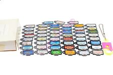 MICRO MACHINES 1990 GALOOB LICENSE PLATE COLLECTION. COMPLETE! ORIGINAL BOX+!