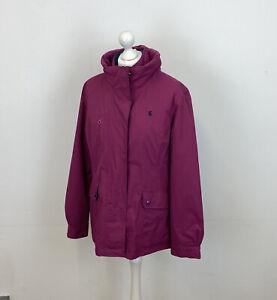 Joules Dakota 3 In 1 Jacket Pink Waterproof & Quilted Sz 16 UK Ladies