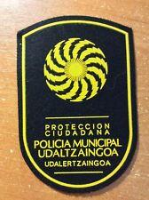 PATCH POLICE SPAIN BASQUE PAIS VASCO UDALTZAINGOA ORIGINAL!