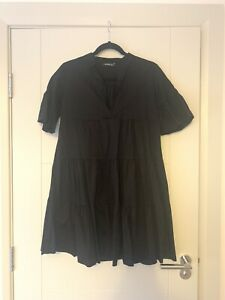 Boohoo Black Maternity Dress