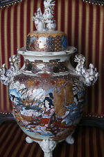 japanische satsuma Vase, japanese SATSUMA Pottery,  Meiji period, 1900