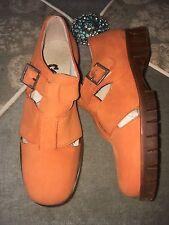 Girl's Brushed Leather European Shoes/Flats SZ EU 31/US 1