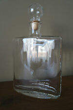 Hunting Flask Glass Bottle