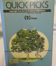 Quick Picks Plants Vol. 2 by Eisuke Tanaka (1991, Paperback) Copyright Free Art