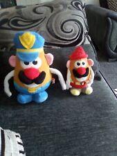 Mr Potato Head Soft Plush Toys X2