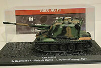 Char Blindé Français AMX AU F1 du 3ème Régiment d'Artillerie 1997 - 1/72 - NEUF