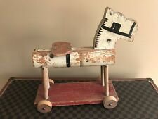 Mega Rare Vintage Fisher Price Wheel Horse #200 - Made in 1934 Only - 1st Rider