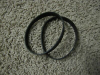 2 GENUINE HOOVER 38528040 Vacuum Belts - Elite, Legacy, Foldaway, Fusion, Empire
