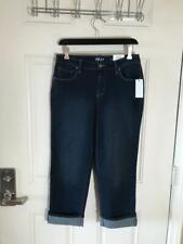 New listing NWT Style & Co. Curvy Cuffed Capri Jeans Blue ~ Size 2