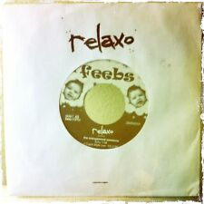 "7"" of Relaxo reggae dub! The Orangewood Sessions on the Feebs label."