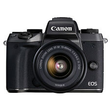 Canon EOS M5 Mirrorless Digital Camera with 15-45mm EF-M IS STM Lens