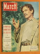Paris Match N° 170 du 14/06/1952-Pierre Fresnay-Espionnage communiste en France