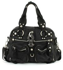 GEORGE GINA & LUCY Cross Body Bag Nylon Double B King Kong