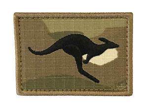 Australian Kangaroo Military Morale Patch on Multicam - New