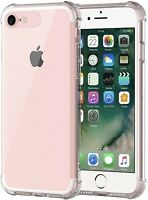 Case For Apple iPhone SE 2020 Clear Cover Soft TPU Silicone Gel Protective UK