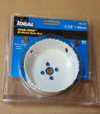 """IDEAL Bi-Metal Hole Saw 3-3/8"""" / 86mm Bi  USA #35-376"""