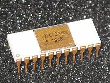 93L422-DC Rare Vintage White IC Gold Keramik F7848 selten