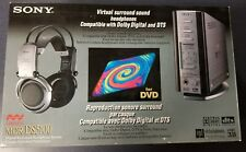 New listing Sony Mdr-Ds5100 5.1 Virtual Surround Sound Headphone System