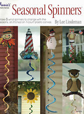 Wind Spinners Sun Flower, Scare Crow, Lighhouse Owl More Plastic Canvas Patterns
