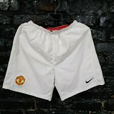Manchester United Home football Shorts 2007 - 2009 Nike 237926-105 Mens Size S