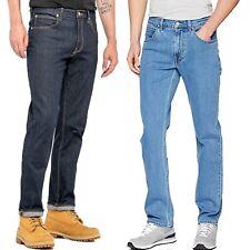 Men's New Lee Brooklyn Straight Leg Jeans Regular Fit All Waist Size