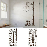 Fashion Cute Black Cat Removable Wall Sticker Decal Art Home Decoration DIY