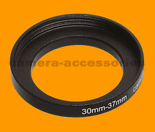 30mm to 37mm 30-37 Stepping Step Up Filter Ring Adapter 30-37mm 30mm-37mm M to F