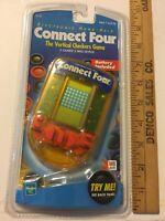 Vtg Hasbro Milton Bradley Handheld Connect Four Game New Sealed Gift SKU 042-008