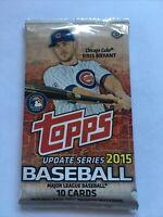 2015 Topps Baseball Update Hobby Pack  **Possible Kris Bryant RC Chrome Black?**
