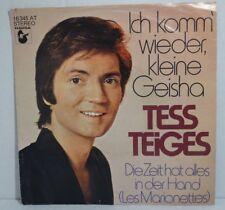 """TESS TEIGES ( FANCY ) - Ich komm wieder kleine Geisha : 7"""" Single, hansa 1975"""
