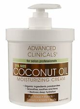 Coconut Oil Moisturizing Cream Lotion For Face Hand Body Skin Restore Organic