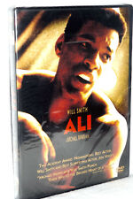 New 2002 DVD ALI with Will Smith from Director Micheal Mann