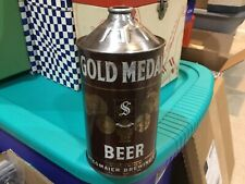 Stegmaier Gold Medal Quart Cone Top Beer Can Irtp