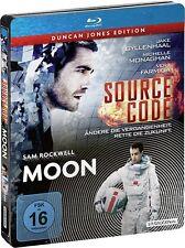 SOURCE CODE (Jake Gyllenhaal) + MOON (Sam Rockwell) 2 Blu-ray Discs, Steelbook
