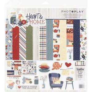 PhotoPlay - Heart & Home Stickers 12in x 12in - Elements