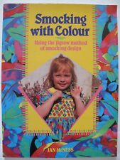 SMOCKING WITH COLOUR by JAN McNESS