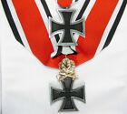 German Knight's Cross Medal Ritterkreuz & Gold Oak & Iron Cross Medal 1957