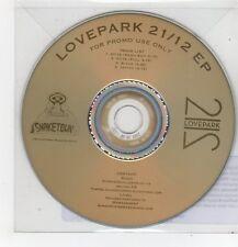 (FF500) Lovepark, 21/12 E.P. - 2014 DJ CD