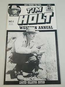 "AC COMICS ""TIM HOLT"" WESTERN ANNUAL #1 1991. LIMITED EDITION ONLY 2000 COPIES"