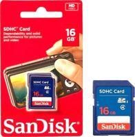 New SanDisk 16GB SD Card SDHC Memory Card Class 4 16 GB For Digital Cameras