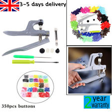 Fastener Snap Pliers KAM Buttons 350 Mix Set T5 Plastic Resin Press Stud Cloth